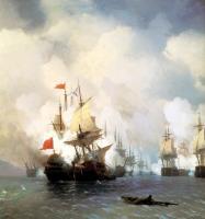 Бой в Хиосском проливе 24 июня 1770 года - 1848 год