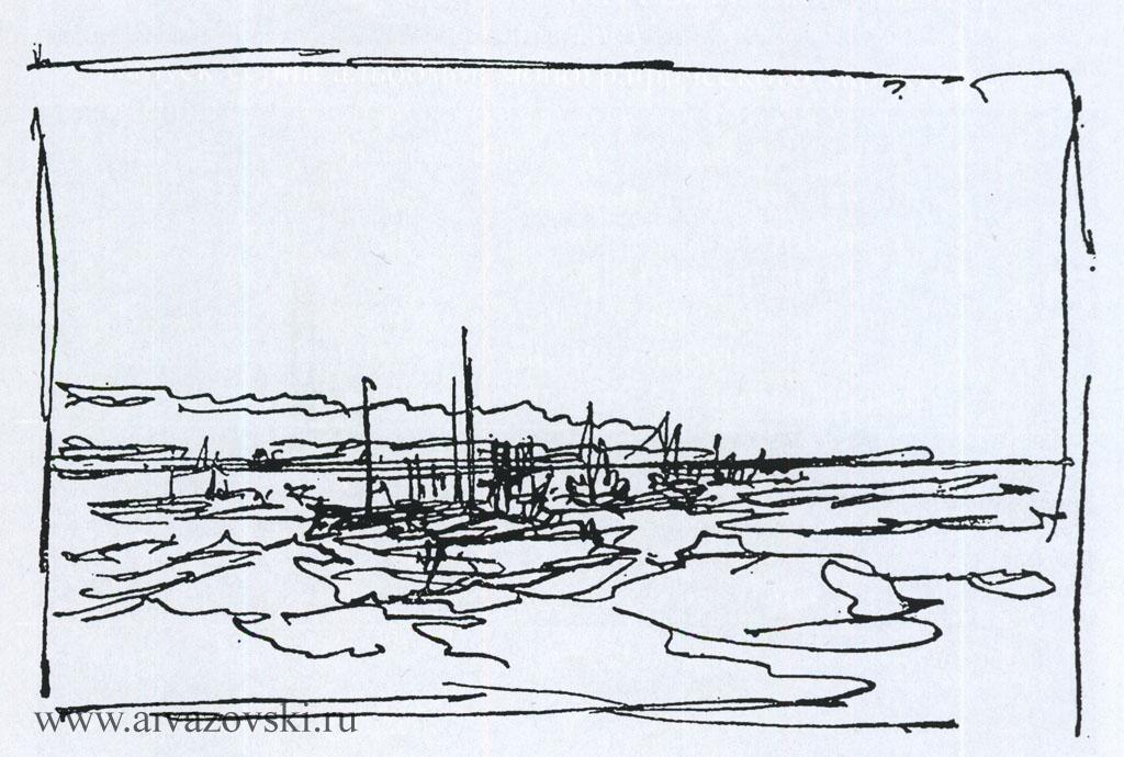 Набросок, 1890-е