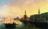 Вид на венецианскую лагуну (И.К. Айвазовский)