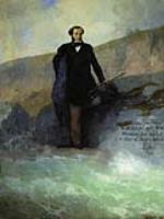 А.С.Пушкин на берегу Черного моря. 1897