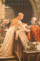 Картина Дама и рыцарь