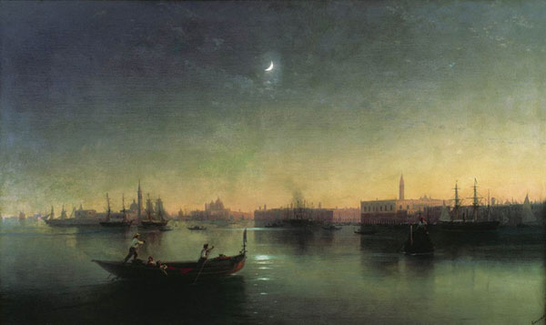 Венеция. (Айвазовский И.К.)