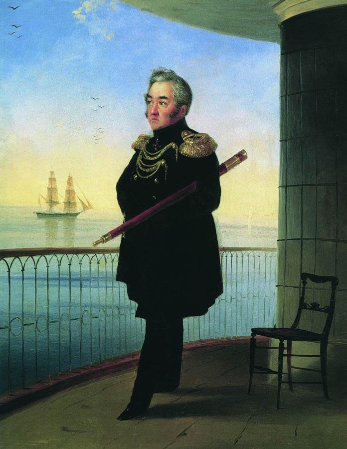 Портрет вице-адмирала М.П. Лазарева. 1839