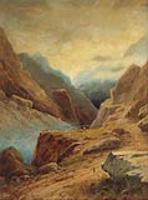 Дарьяльское ущелье.1891