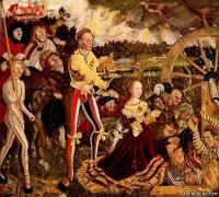 Мужской костюм Германии периода Реформации. Лукас Кранах Старший.