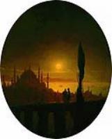 Лунная ночь у взморья. 1847