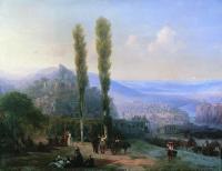 Вид Тифлиса. 1869