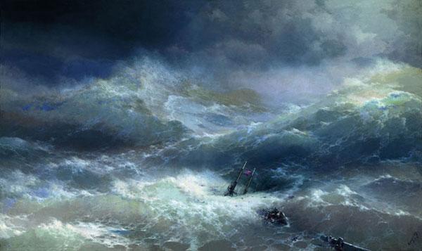Волна. (Айвазовский И.К.)