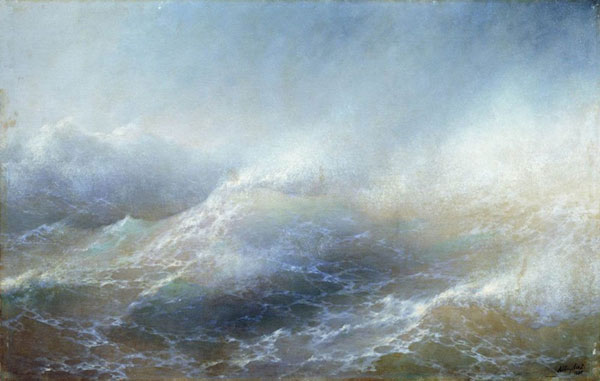 Морской вид. (Айвазовский И.К.)