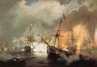 Морское сражение при Наварине 2 октября 1827года. 1846