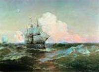 """Корабль """"Двенадцать апостолов"""". 1897"""