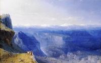 Горы Кавказа (И.К. Айвазовский)