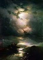 Буря на Северном море. 1865