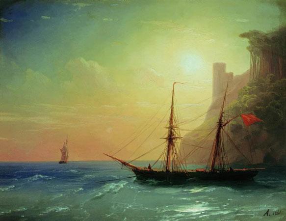 Берег моря. (Айвазовский И.К.)