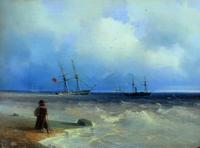 Морской берег (И.К. Айвазовский)