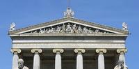 Акротерионы на здании Греческой национальной ассамблеи