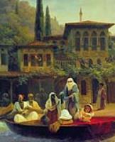 Восточная сцена (В лодке). 1846
