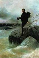 Прощание А.С.Пушкина с морем. 1877