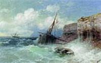 Буря на море. 1880