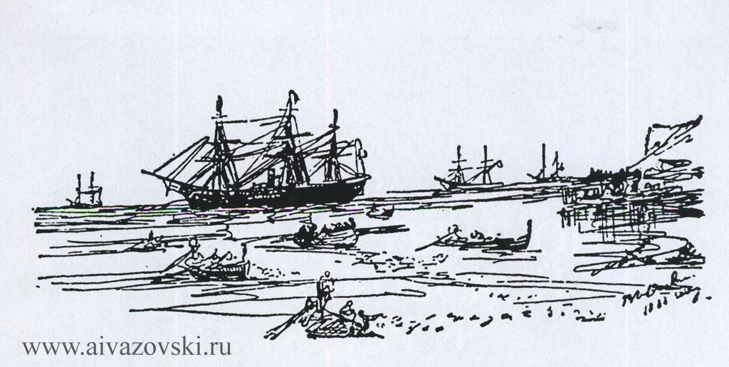 Набросок, 1888