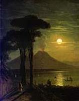 Неаполитанский залив в лунную ночь. 1840