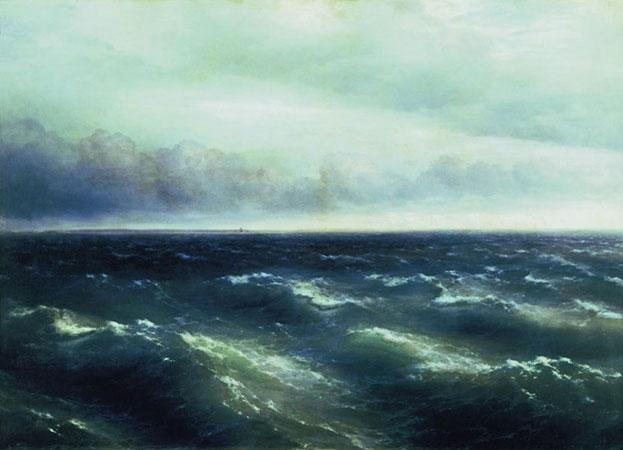 Черное море. (Айвазовский И.К.)