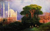 Вид Константинополя (И.К. Айвазовский)