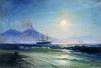 Неаполитанский залив ночью.1895