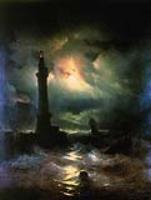 Неаполитанский маяк. 1842