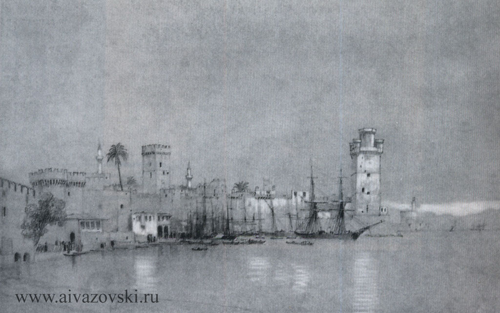 «Остров Родос», 1845