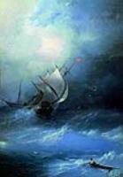 Буря на Ледовом океане. 1864