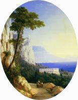 Вид в Ореанде. 1858