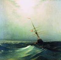 Ночь. Голубая волна. 1876