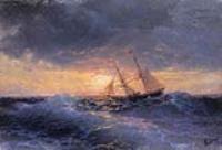 Море. Закат. 1896