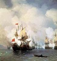 Бой в Хиосском проливе. 1848
