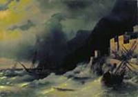 Буря на море. 1850