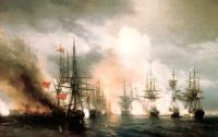 Синопский бой. Ночь после боя. 1853
