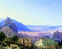 Вид Тифлиса от Сейд-Абада. 1868